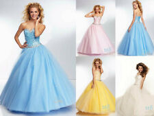 New Wedding Formal Prom Dress Party Evening Pageant Bridesmaid Dresses Ball Gown