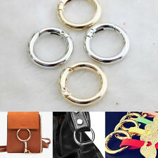 Snap Clip Trigger Spring Gate O Ring Keyring Buckle Bag Accessories Ring 25-38mm