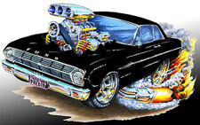 1962-63 Ford Falcon Muscle Car Art Print NEW