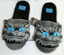 NEW Alice in Wonderland CHESHIRE CAT ADULT Slippers PLUSH HOUSE SHOES XL 11/12