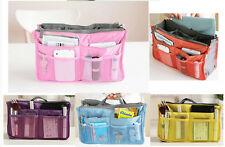 Women Lady Travel Insert Handbag Organiser Purse Pouch Tidy Liner Organizer Bag