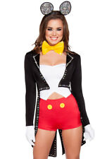 Womens adult Mickey Mouse tuxedo shorts costume