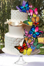 26 Edible Butterfly Wafer Cake Decorations,cupcake toppers,cookie toppers