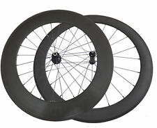 50mm+88mm Clincher Road Bike Straight Pull Carbon Wheels Racing Bicycle Wheelset