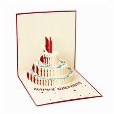3D Pop Up Greeting Card Handmade Happy Birthday Easter Valentines Day Thank You