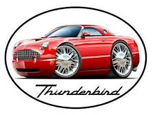 2002-05 Ford Thunderbird Classic Car Vinyl Sticker Decal NEW FREE SHIPPING