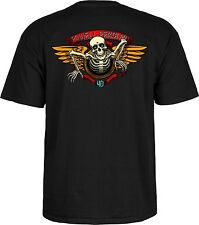Powell Peralta - 40th Anniversary Winged Ripper Tee Black