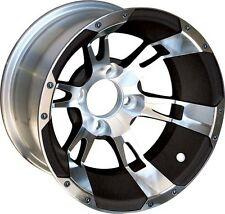 BUY THE COMBO AND SAVE!  Golf Cart Wheels, AT Tires & Lift Kit - 40970/40270