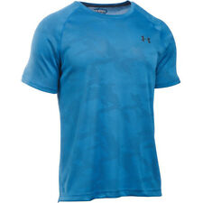 Under Armour Tech Jacquard Mens T-shirt - Brilliant Blue All Sizes