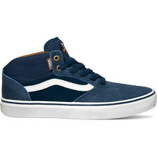 Vans Skate Gilbert Crockett Pro Mid Mens Footwear Shoe - Xtuff Dress Blues
