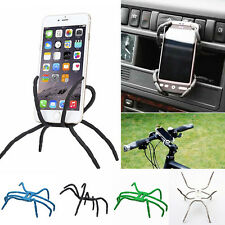 Universal CAR Spider Flexible Phone Holder Hanging Mount Stand for Mobile Phone