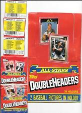 1990 Topps Double Headers Team Sets ** Pick your Team **