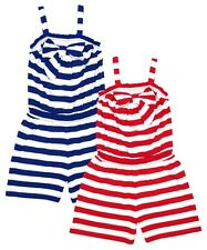 Girls Striped Shorts Summer Jumpsuit/Playsuit.  Ages 3-4 yrs