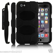 Heavy Duty Armour Tough Builder Shock Proof Stand Case For iPhone 6S 6 Plus +