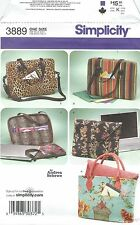 Simplicity 3889 Laptop Computer Bags   Sewing Pattern