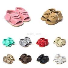 Cute Baby Kids Sandal Soft Sole Shoes Boy Girl Toddle Moccasin Crib Summer Shoes