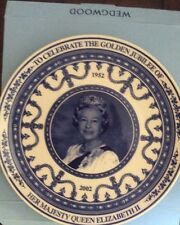 Celebrate Golden Jubilee of Queen Elizabeth II, plate, Wedgwood for Daily Mail