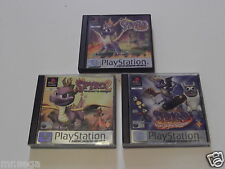 SPYRO THE DRAGON, SPYRO THE DRAGON 2 & SPYRO YEAR OF DRAGON - PLAYSTATION 1 & 2