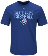 Toronto Blue Jays MLB Mens Majestic One Winner Shirt Royal Big Sizes