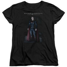 DC COMICS BATMAN VS SUPERMAN STAND TALL WOMENS T-SHIRT SM TO 2XL