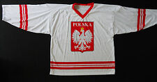 POLAND NATIONAL TEAM HOCKEY jersey, great for players, new/tag