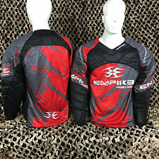 NEW Empire 2015 Prevail F5 Padded Paintball Jersey - Red/Grey