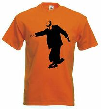 BANKSY LENIN ON ROLLER SKATES T-SHIRT - Choice Of Colours - Sizes S to XXXL