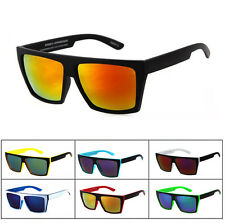 Square Frame Mens Mirror Sunglasses Outdoor Sports Driving Glasses Eyewear