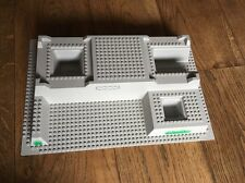 LEGO  32 x 48 STUD 3-D RAISED GREY BASE BUILDING BOARD PLATE- More Listed