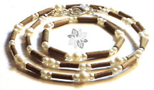 Hazelwood SET Therapeutic Water Pearls (Necklace-Bracelet or Anklet) .