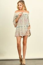 Chic Off-Shoulder Tunic Top