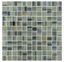 Beach Break Hand Painted 1x1 Glass Mosaic Tiles - Backsplash