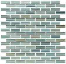 Reflections Hand Painted Glass Mosaic Subway Tiles - Kitchen Backsplash/Bathroom