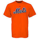 MLB New York Mets Majestic Youth Tee Shirt Short Sleeve