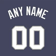 Baseball 2008 All Star American League Jersey Customized Number Kit un-sewn