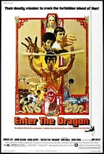 Enter the Dragon 8x10 11x17 16x20 24x36 27x40 Movie Poster Vintage Bruce Lee A