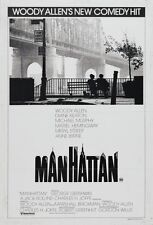 Manhattan 8X10 11x17 16x20 24x36 27x40 Vintage Movie Poster Woody Allen Keaton A