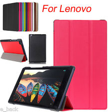 Slim Folding Stand Flip Leather Case Cover For  Lenovo Tab 3 8/TAB2 A8 For Acer