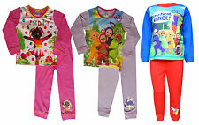 Girls Boys Teletubbies Upsy Daisy Night Garden Snug Fit Pyjamas Age 1 to 4 Years
