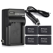 LP-E12 LPE12 Battery For Canon EOS M M2 100D Rebel SL1 Kiss X7 Cameras + Charger