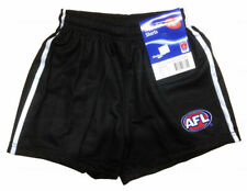 Collingwood Magpies AFL Football Auskick Youths Replica Team Shorts