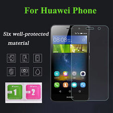 Genuine Tempered Glass Screen Protector 9H HD Clear Guard Cover Film For Huawei