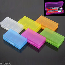 1PC Hard Plastic Battery Case Holder Storage Box For 2x 18650 16340 CR123A Hot