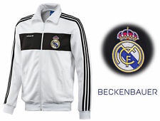 ADIDAS ORIGINALS REAL MADRID BECKENBAUER FULL ZIP OFFICIAL MENS TRACK JACKET S