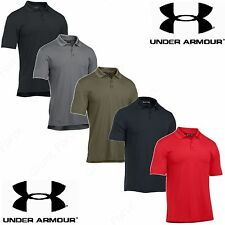Under Armour Mens UA Tactical Performance Short Sleeve Loose Fit Polo Golf Shirt