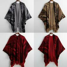 Soft Cape Women's Ladies Scarf Neck Shawl Scarf Scarves Tassels Stole Wrap V4S9