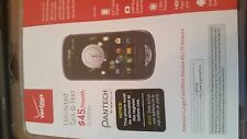 New Sealed Retail pkg PANTECH Breakout VERIZON PREPAID Smartphone old  Android