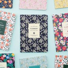 Floral Monthly Diary Planner Organizer 13 Month Scheduler Pages Undated