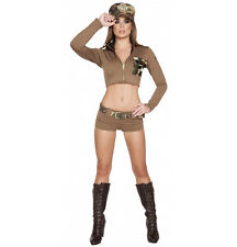 Roma Camo Sexy Soldier Babe Army Military Combat Costume 4591
