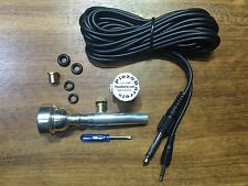 PiezoBarrel Trumpet Pickup Microphone with 7C, 5C or 3C mouthpiece and cable